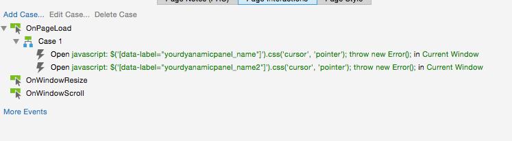 Custom Cursor style - Axure RP 8 - Axure Forums